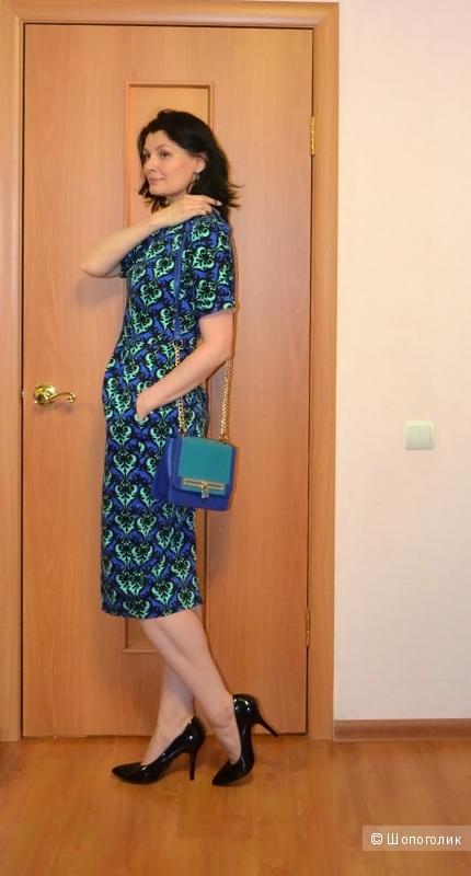 Новое платье ASOS wiggle из хлопка, размер 10 uk
