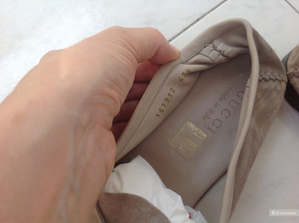 Мокасины Gucci 43.5 размер