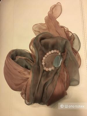 Сет аксессуаров: шарфик+ браслет