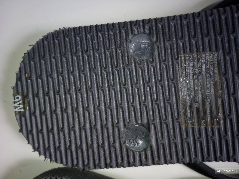 """Брендовые сланцы (шлепки) """"Armani Exchange""""  размер 39 , 9 US, (25 см)"""