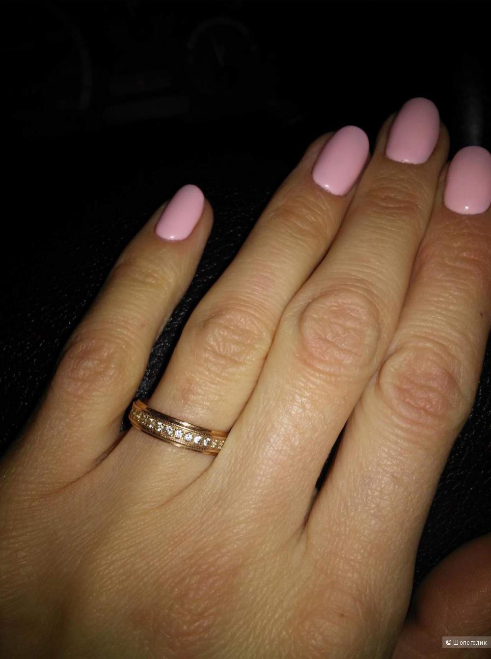 Кольцо 585, 16 размер