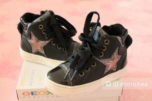 Geox  кожа р.25 кроссовочки на осень