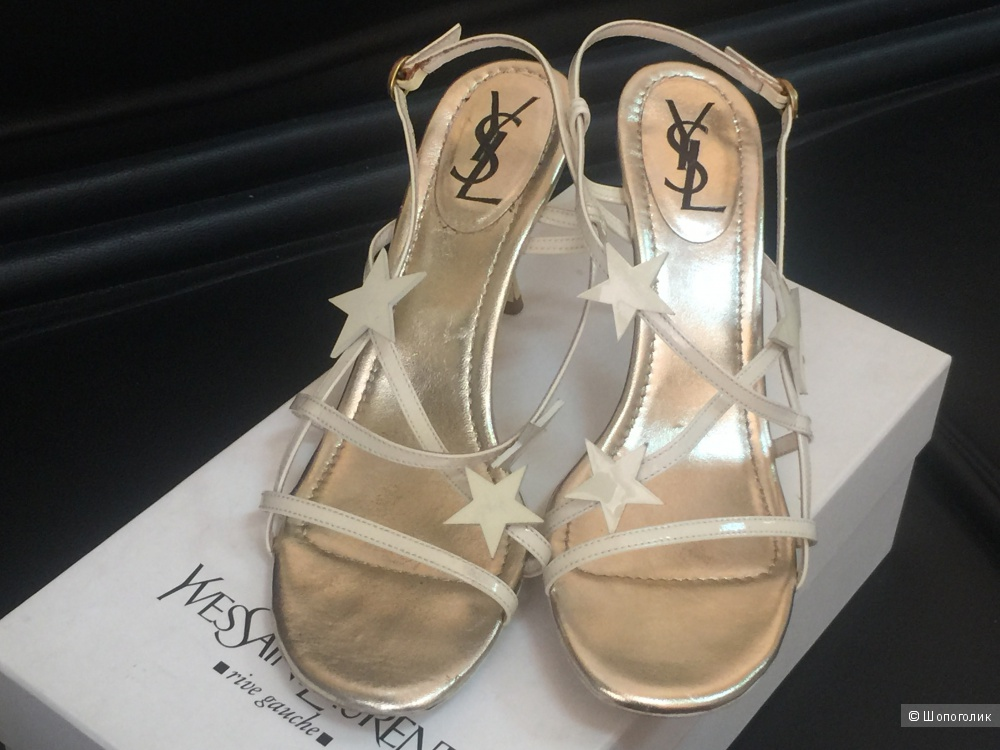 Босоножки Yves Saint Laurent, размер 38