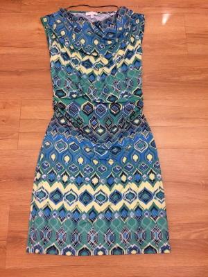 Летнее  яркое платье р-р 36