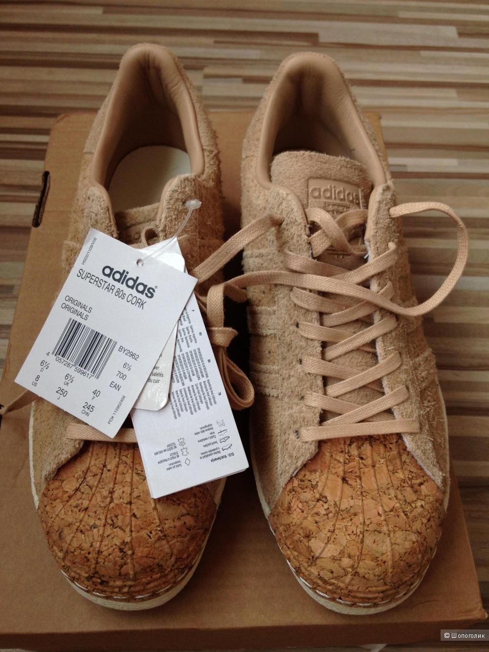 Новые кроссо-кеды Adidas, размер UK6,5