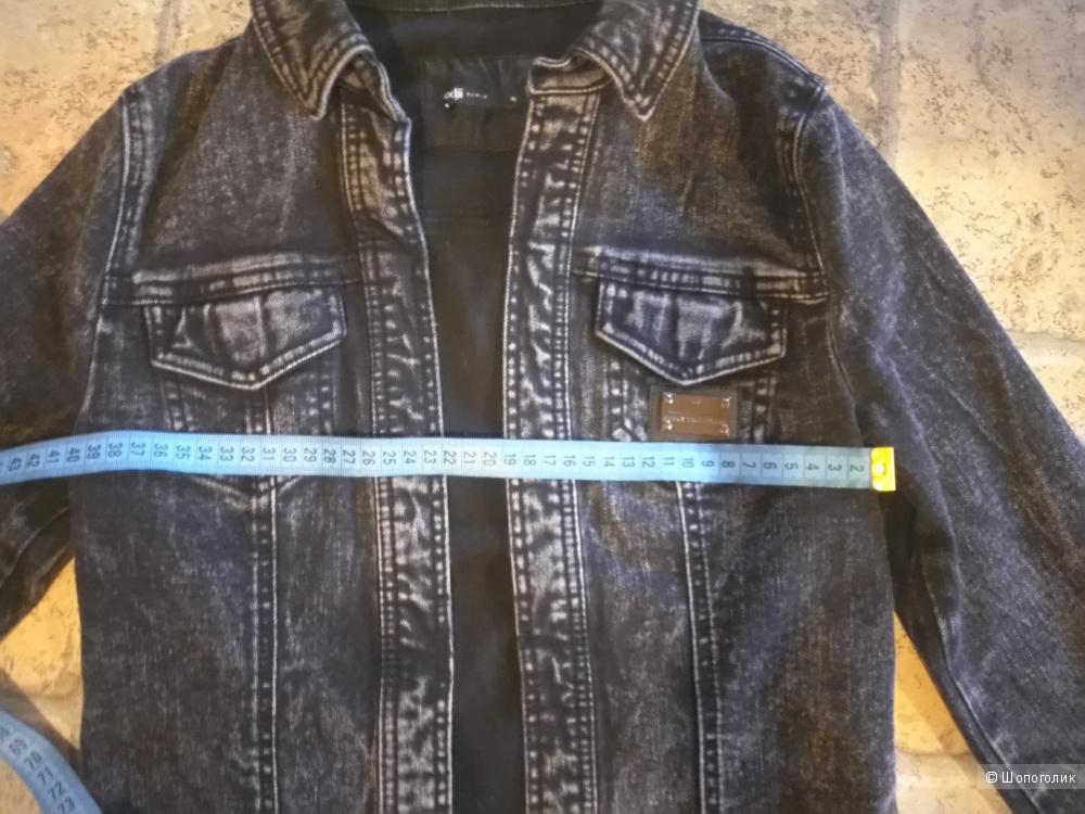 Джинсовая куртка, Oodji Размер: 40/170 российский 44-46.