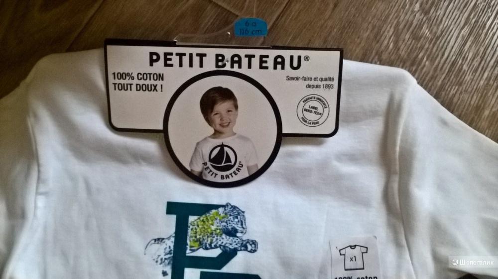 Футболка PETIT BATEAU р.6а(116)