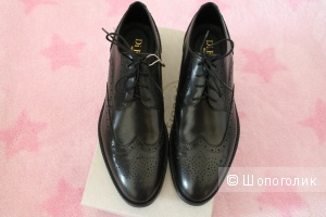 Мужские туфли 43,5 кожа с yoox