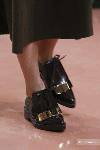 Marni , туфли на шнуровке , 38 р