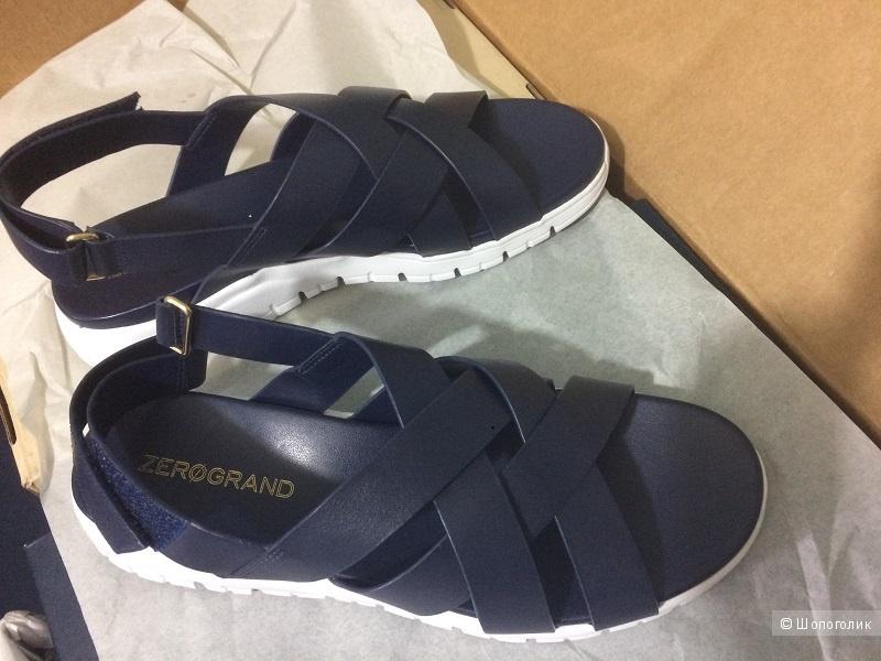 Кожаные невесомые сандали Cole Haan р-р 38-38,5