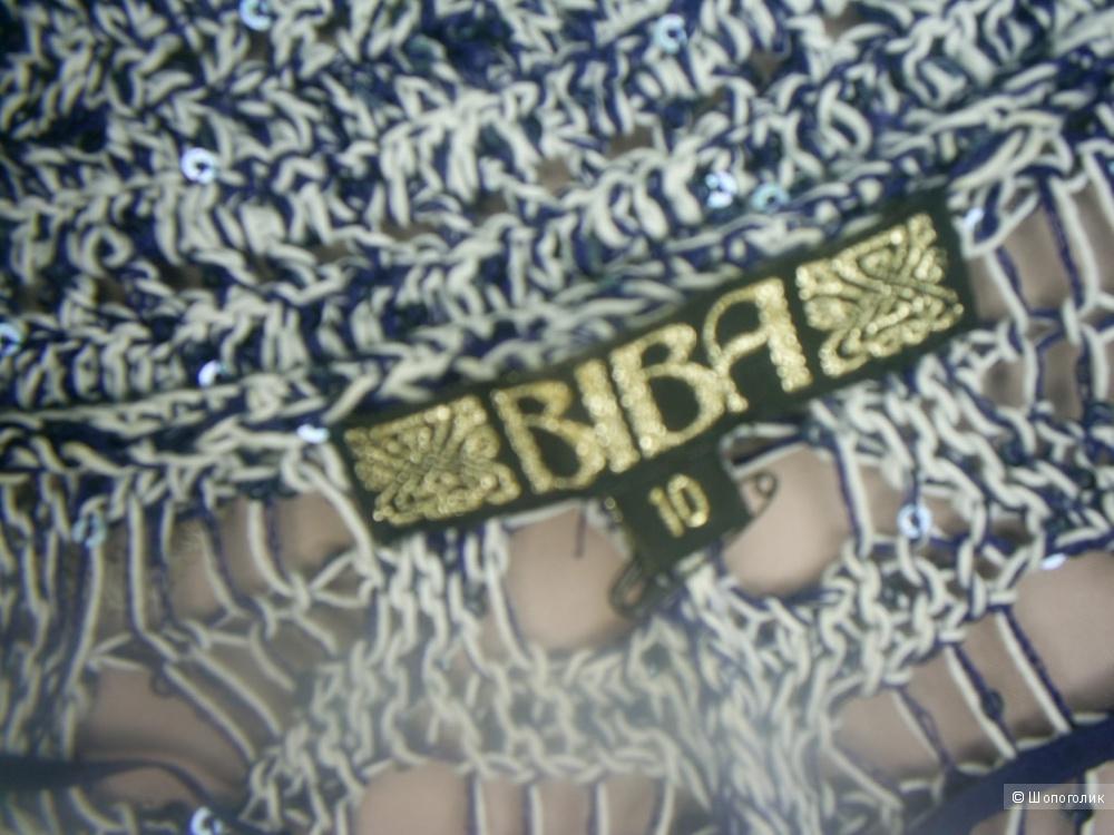 Ажурная кофта от Biba р 44-46-48.