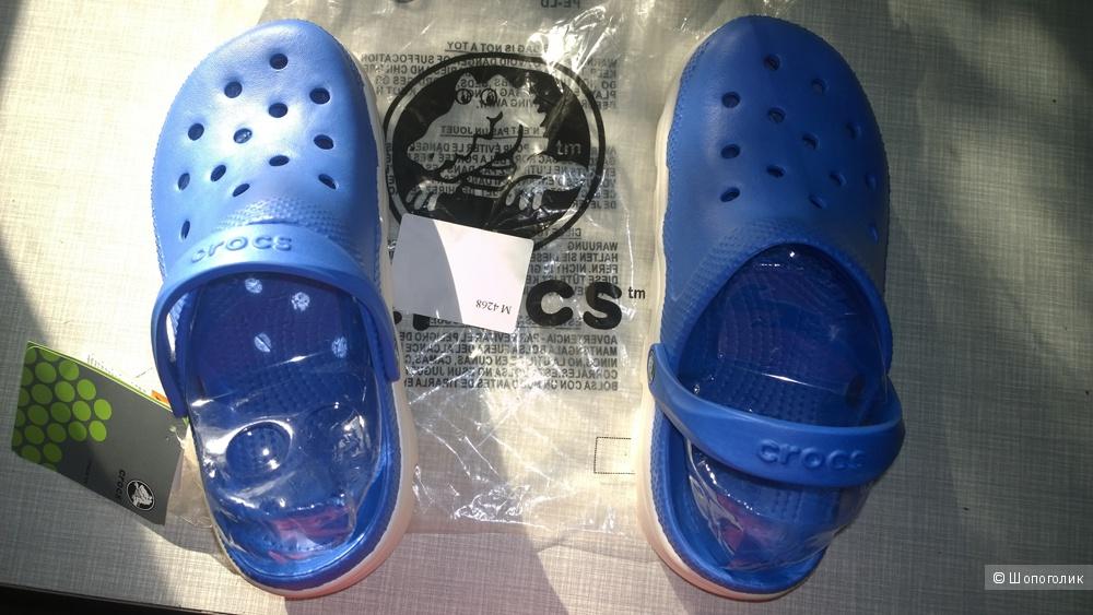 Кроксы женские. Crocs. Размер M7-9 (38-40)