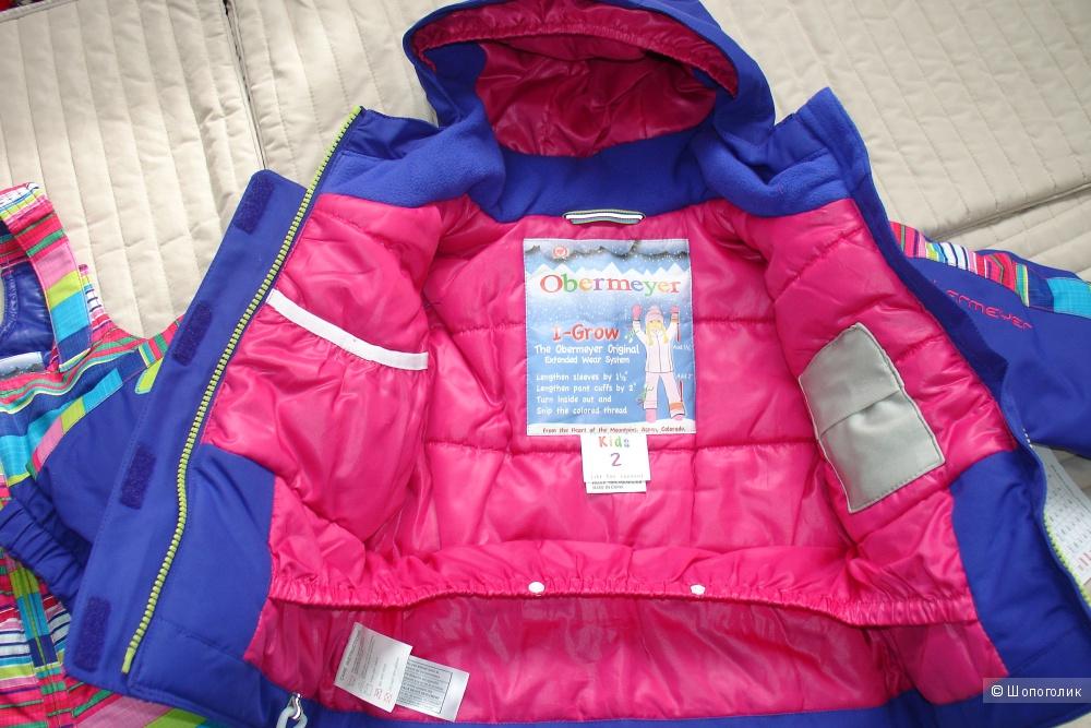 Новый зимний  комплект Obermeyer куртка + полукомбезон  на 2 года