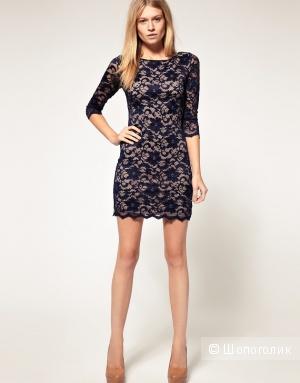 Кружевное платье Asos размер UK10