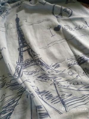 Новый платок с парижских улиц из хлопка и вискозы