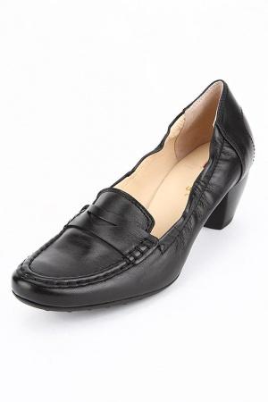 Туфли-лоферы замша с резиночкой HOGL Австрия в размере 5(38 росс)