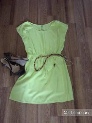 Летнее платье, беннетон, 42-44 размер