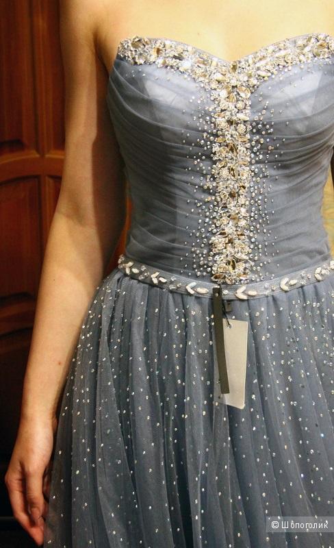 Новое шикарное вечернее платье XS-S-M/40-42-44