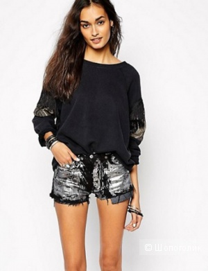 Винтажные джинсовые шорты LEVI`S  Milk It ,новые,размер W31 ( М)
