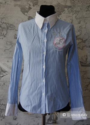 """Рубашка в полоску """"La Martina"""", размер 42-44"""