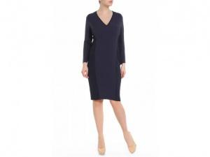 Темно-синее платье MaxMara, размер 46
