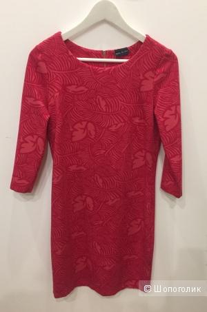 Новое красное платье S