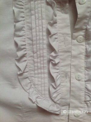 Белая блузка, no name, разм. S