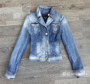 Джинсовый жакет / джинсовка Miss Sixty размер XS, 40-42