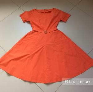 Летнее платье в спортивно-элегантном стиле ZARINA р.46