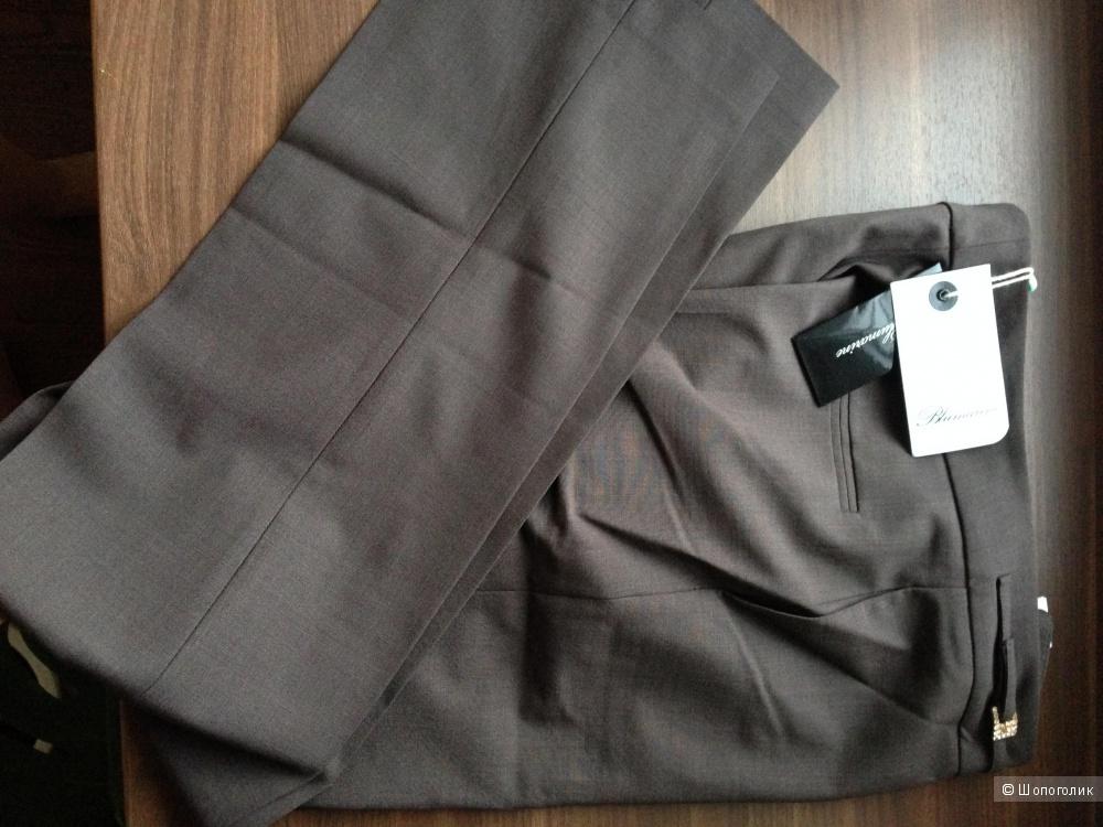 Blumarine летние брюки из тонкой шерсти р.44 Новые