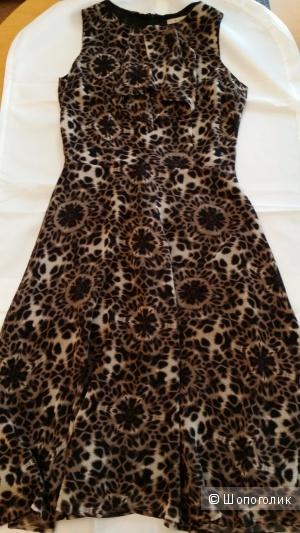 Эффектное платье Biassi с жабо, 44-46  размера