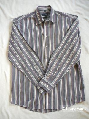 Мужская рубашка LORENZO CALVINO Milano ворот 39-40