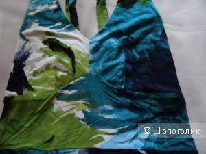 Сарафан яркой расцветки, размер 40- 42, б/у