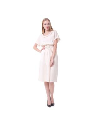 Платье летнее с объемным верхом  LO размер 48 на 48-50 с шелком