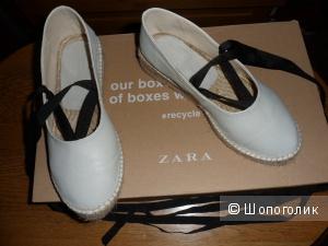 Эспадрильи балетки Zara 35 размер