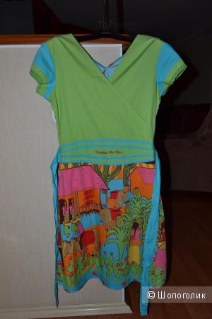 Летнее яркое Платье ROSALITA MC GEE размер S,руск.42-44