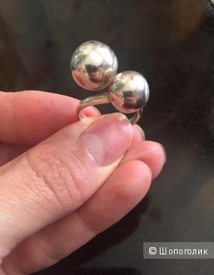 Серебряное колечко 16,5 размера