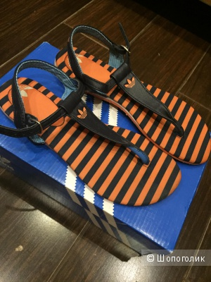 Adidas Pablina W босоножки из натуральной кожи 36 размер