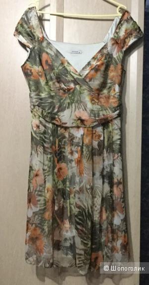 Шифоновое платье tom klaim 52