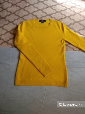 Джемпер желтый кашемировый GOBI размер s/хs