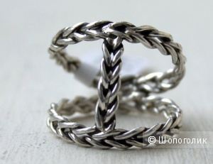 Серебряное колечко ручной работы от Zhanat Kim размер 16,5