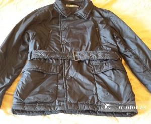 Черная куртка Sela Opposite размер М на 48 (небольшой 50)
