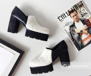 Туфли кожанные бренда Dondup в стиле GUCCI  размер 40-41
