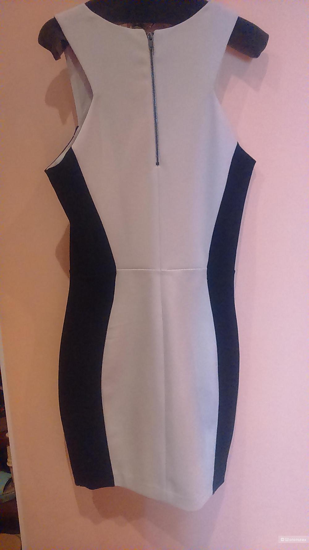 Платье Mango в стиле колор-блок р-р S