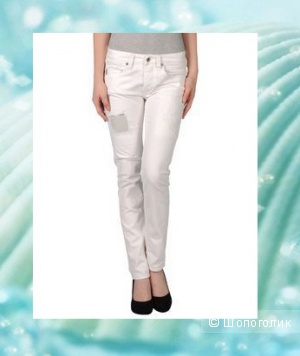 We are Replay белые джинсы Boyfit 30 размер
