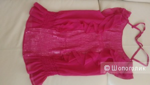 Продам кофту Ojji,размер 42-44 русс, цвет ярко-розовый