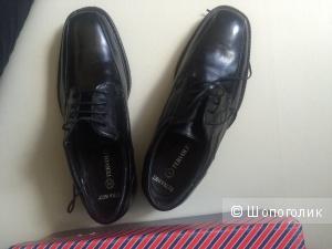 Новые мужские туфли  tervolina натуральная кожа р.42