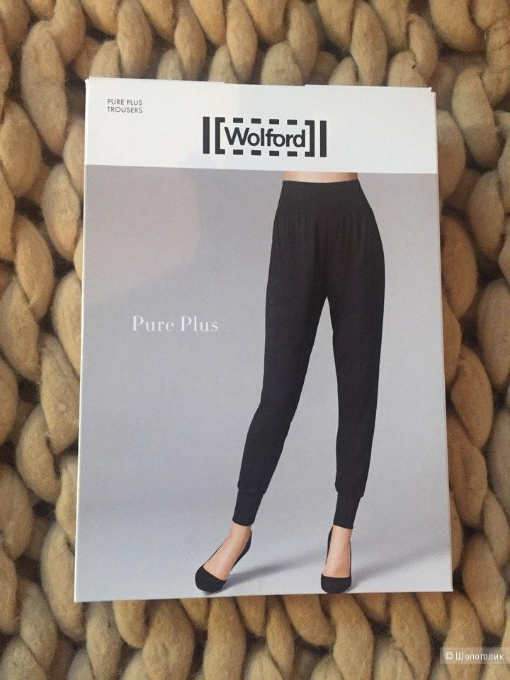 Черные штаны WOLFORD PURE PLUS TROUSERS р-р 42-44