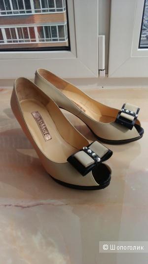 Nando Muzi туфли натуральная кожа размер 37
