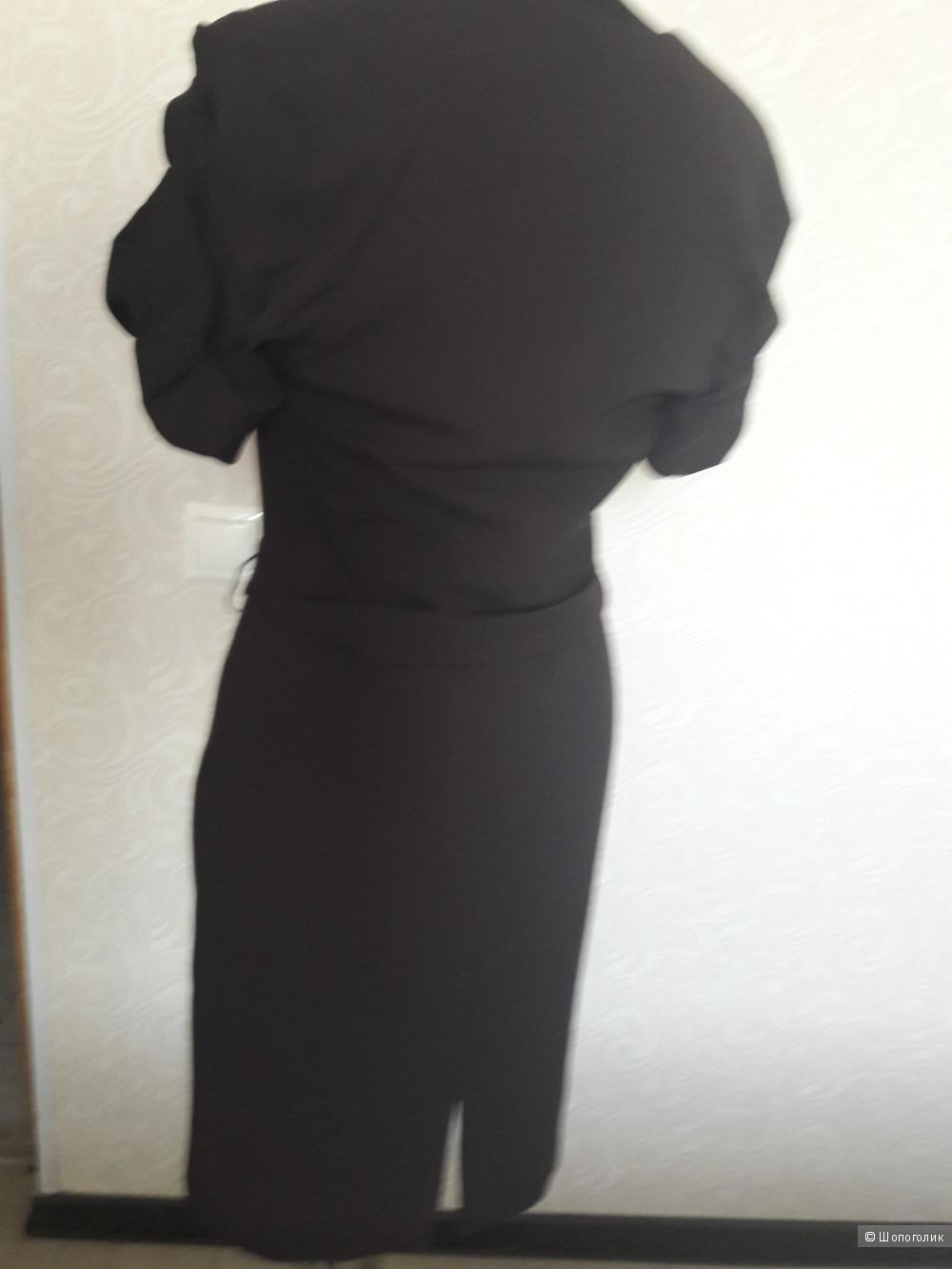 Vipart: платье классика с фигурными рукавами,40
